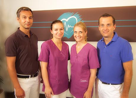 Ihr Team der Kardiologie im Ärztehaus Harlaching